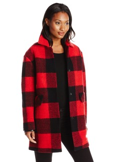 Pendleton Heritage Women's P Bunyan Plaid Wool Coat Buffalo