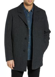 Pendleton Iconic Textures Manhattan Wool Blend Top Coat