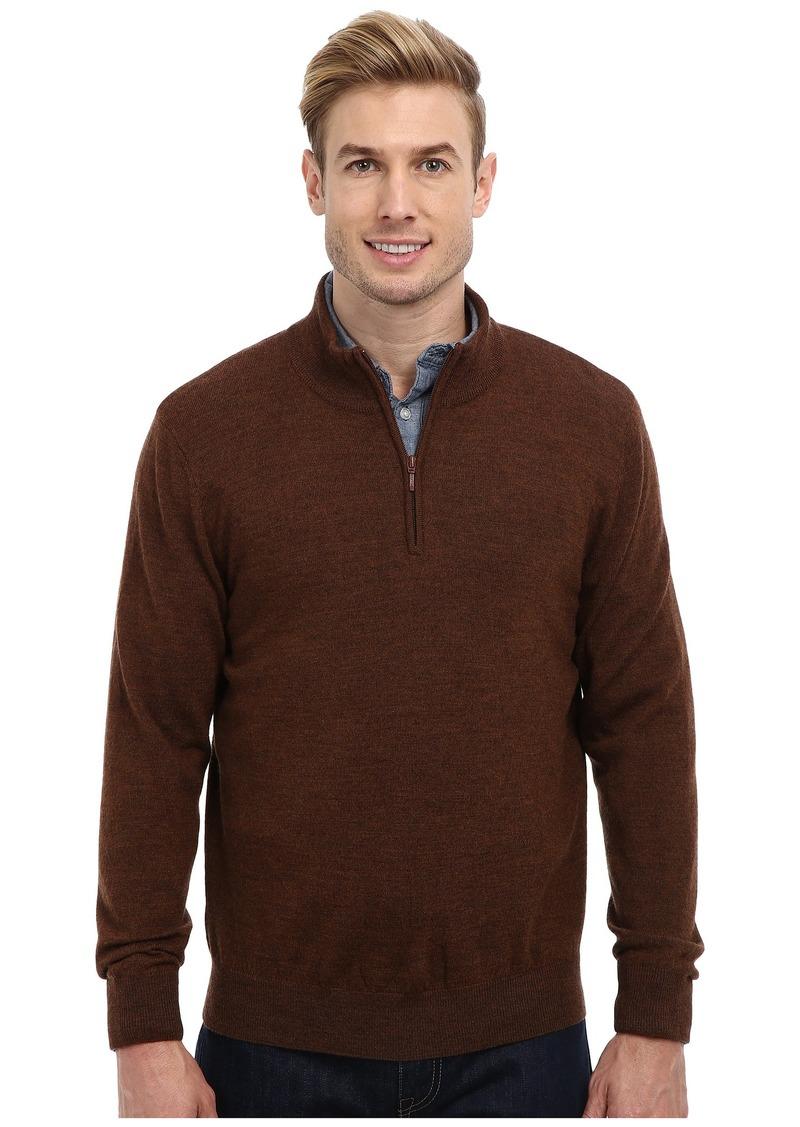 Pendleton L/S Merino 1/4 Zip Sweater