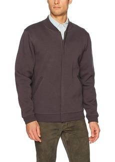 Pendleton Men's Baseball Jacket in Knit Jacquard Black/Grey Harding-63893 XL