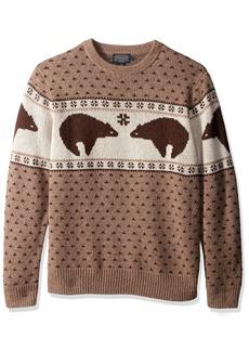 Pendleton Men's Bear Sweater  LG