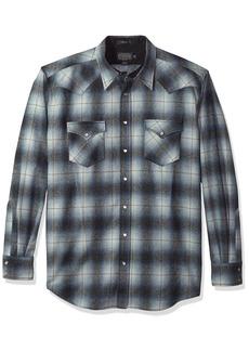 Pendleton Men's Big & Tall Long Sleeve Canyon Shirt  LG-Tall