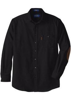 Pendleton Men's Big & Tall Long Sleeve Trail Shirt Black XX-Large/Tall