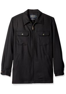 Pendleton Men's Brightwood Zip Jacket Black Flannel