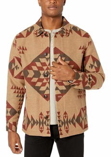 Pendleton Men's Button Front Jacquard Jacket  MD