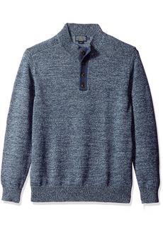 Pendleton Men's Button Henley Marl Sweater