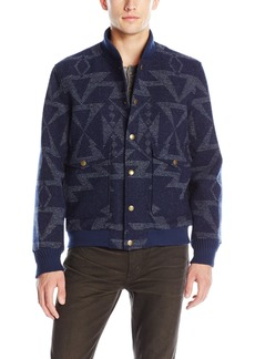 Pendleton Men's Cascade Jacket Star Hero Navy/Grey LG