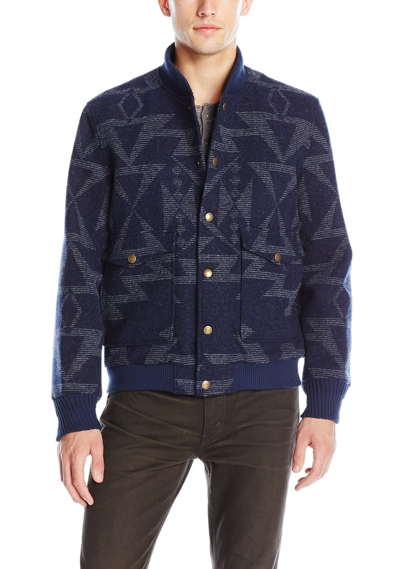 Pendleton Men's Cascade Jacket Star Hero Navy/Grey LG