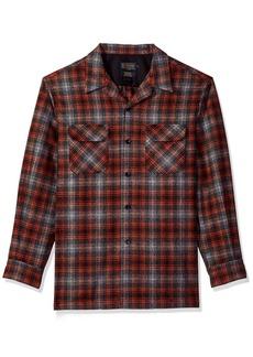Pendleton Men's Classic Fit Long Sleeve Board Shirt  LG
