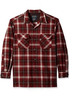 Pendleton Men's Classic Fit Long Sleeve Board Shirt  MD