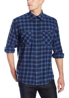 Pendleton Men's Long Sleeve Button Front Classic-Fit Maverick Merino Shirt  SM