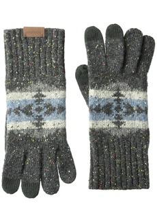 Pendleton Men's Cozie Knit Gloves Hawkeye grey S/M
