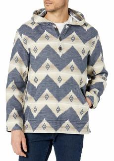 Pendleton Men's Driftwood Cotton Flannel Pullover Hoody  LG