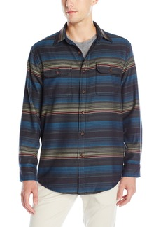 Pendleton Men's Long Sleeve Fitted Camber Shirt  MD