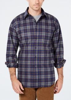 Pendleton Men's Lodge Plaid Wool Pocket Shirt