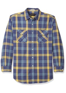 Pendleton Men's Long Sleeve Beach Shack Twill Shirt  LG