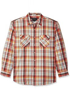 Pendleton Men's Long Sleeve Beach Shack Twill Shirt  MD