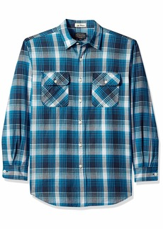 Pendleton Men's Long Sleeve Beach Shack Twill Shirt  SM