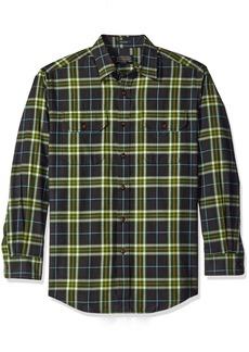 Pendleton Men's Long Sleeve Button Front Bridger Shirt  LG