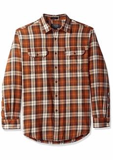 Pendleton Men's Long Sleeve Button Front Bridger Shirt  XXL