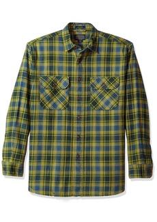 Pendleton Men's Long Sleeve Button Front Burnside Shirt  XL