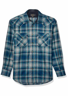 Pendleton Men's Long Sleeve Button Front Classic-fit Canyon Shirt  SM