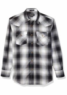 Pendleton Men's Long Sleeve Button Front Classic-fit Frontier Shirt  SM