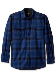 Pendleton Men's Long Sleeve Button Front Classic-fit Guide Shirt  SM