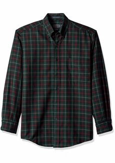 Pendleton Men's Long Sleeve Button Front Classic-fit Sir Shirt  SM