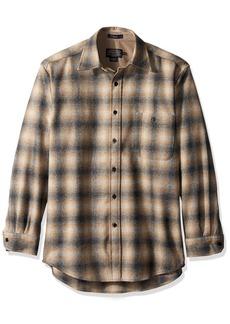 Pendleton Men's Long Sleeve Button Front Classic-Fit Trail Shirt  SM