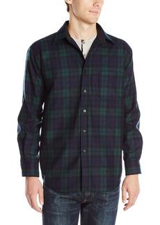 Pendleton Men's Long Sleeve Button Front Classic Lodge Shirt  SM