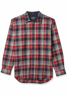 Pendleton Men's Lodge Classic Long Sleeve Button Front Wool Shirt  XL