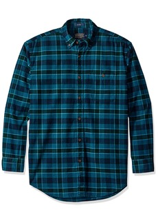 Pendleton Men's Long Sleeve Button Front Corduroy Wayne Shirt  XL
