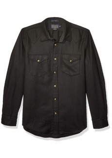 Pendleton Men's Long Sleeve Button Front Fitted Canyon Shirt  MD