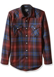 Pendleton Men's Long Sleeve Button Front Fitted Canyon Shirt  XL