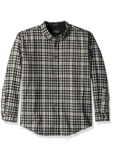 Pendleton Men's Long Sleeve Button Front Fitted Fireside Shirt  MD