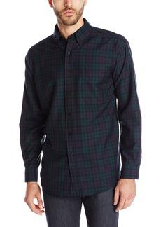 Pendleton Men's Long Sleeve Button Front Sir Pen Shirt