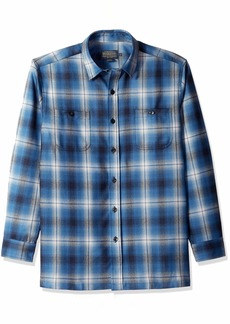 Pendleton Men's Long Sleeve Button Front Zephyr Outdoor Shirt  LG