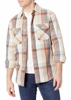 Pendleton Men's Long Sleeve Classic Fit Beach Shack Shirt  SM