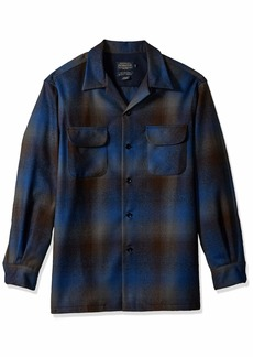 Pendleton Men's Long Sleeve Classic-fit Board Shirt  MD