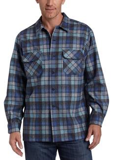 Pendleton Men's Long Sleeve Classic-Fit Board Shirt  LG