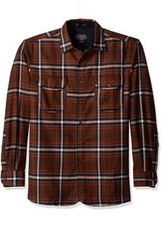 Pendleton Men's Long Sleeve Classic-Fit Buckley Shirt  LG