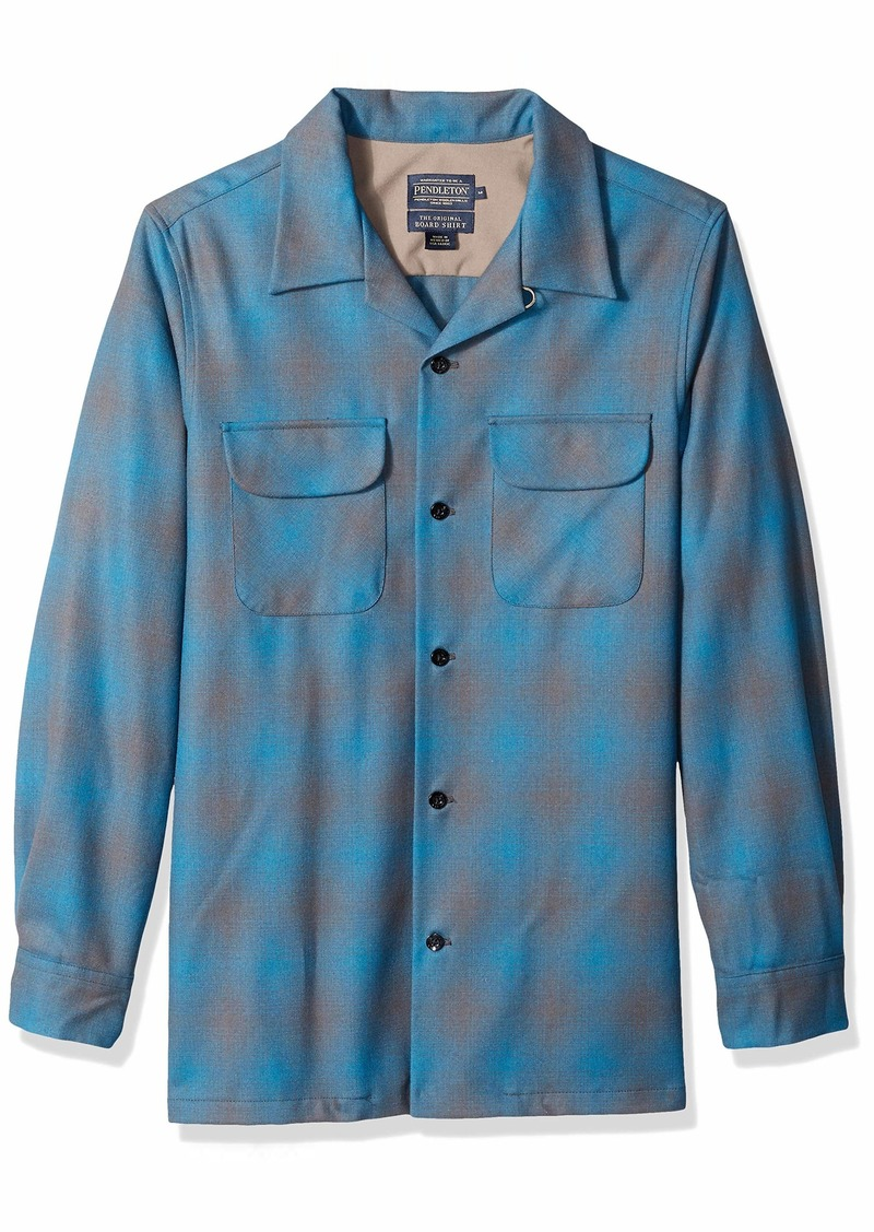 Pendleton Men's Long Sleeve Fitted Board Shirt  XL