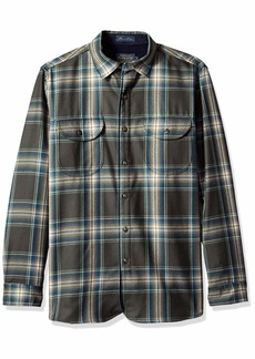 Pendleton Men's Long Sleeve Fitted Buckley Shirt  XL