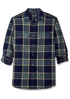Pendleton Men's Long Sleeve Fitted Thomas Kay Doubleface Shirt  LG