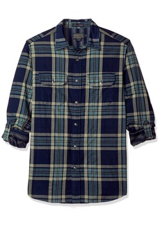 Pendleton Men's Long Sleeve Fitted Thomas Kay Doubleface Shirt  MD