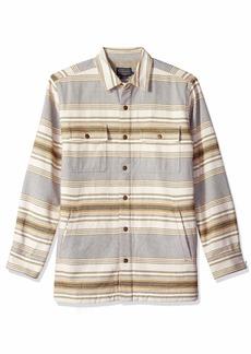Pendleton Men's Long Sleeve Fleece Lined Shirt Jacket  XL