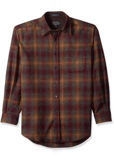 Pendleton Men's Long Sleeve Lodge Shirt - Long Blackwatch