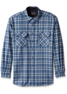 Pendleton Men's Long Sleeve Maverick Merino Wool Shirt  LG