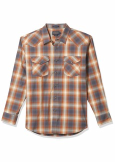Pendleton Men's Long Sleeve Snap Front Classic-fit Frontier Shirt  MD